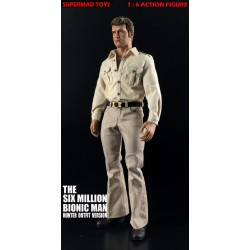 Supermad Toys The Six Million Bionic Man 1:6 Figure (Hunter Outfit Version)