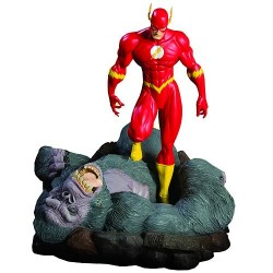 The Flash vs. Gorilla Grodd Mini Statue