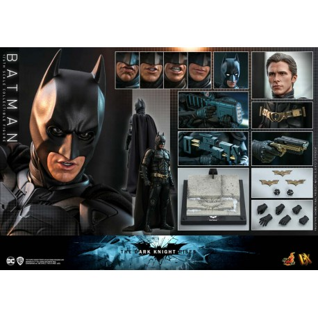 Hot Toys The Dark Knight Rises 1/6th scale Batman Collectible Figure