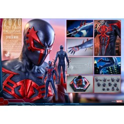Hot Toys Spider-Man 2099 Black Suit VGM42 1/6th Scale Collectible Figure