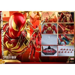 Marvel's Spider-Man Hot Toys  Iron Spider Armor