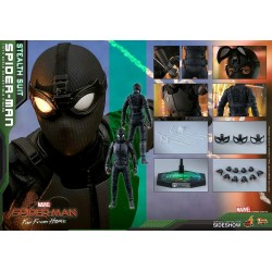Hot Toys Spider-Man (Stealth Suit) Spider-Man: Far From Home