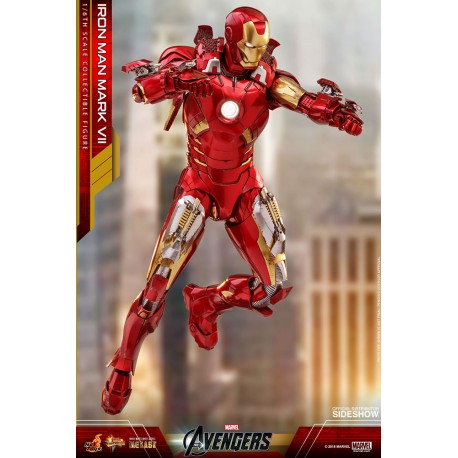 Hot Toys Diecast Iron Man Mark VII  The Avengers 1/6th scale Collectible Figure