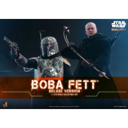 Hot Toys Star Wars: The Mandalorian™ Boba Fett™ Deluxe Version