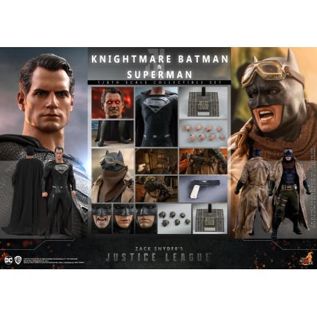 Zack Snyder's Justice League - 1/6th scale Knightmare Batman and Superman Collectible Set