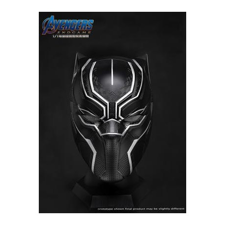 1:1 Wearable Black Panther Helmet Captain America III Made By Killerbody