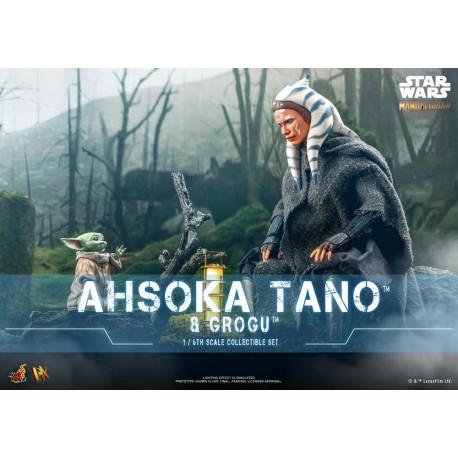 Hot Toys Ahsoka Tano™ & Grogu™Star Wars™ The Mandalorian™ 1/6th Scale Collectible Figure