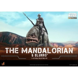 Hot Toys Mandalorian & Blurrg Star Wars: The Mandalorian™ 1/6th scale Collectible Set