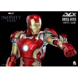 ThreeZero DLX Iron Man Mark 43 Avengers Infinity Saga