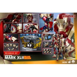 Hot Toys  Iron Man 3 1/4th scale Mark XLII Deluxe Version Re-Issue
