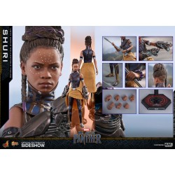 Shuri Sixth Scale Figure by Hot Toys Black Panther - Movie Masterpiece Series