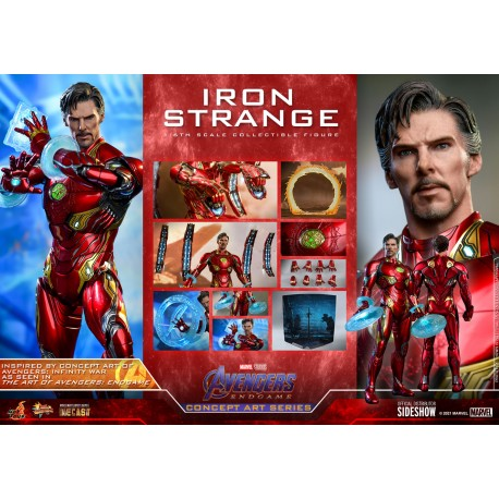 Hot Toys Avengers: Endgame (Concept Art Series) Iron Strange 1/6 Collectible Figure