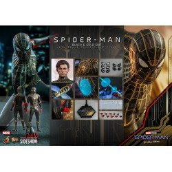 Hot Toys Spider-Man No Way Home (Black & Gold Suit) 1/6 Figure