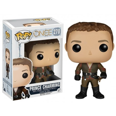 Funko - POP TV: Once Upon A Time - Prince Charming  270  Vinyl Action Figure