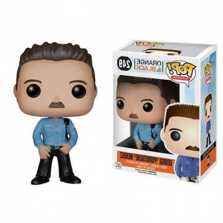 "George ""Pornstache"" Mendez  Orange is the New Black Funko Pop Figure"