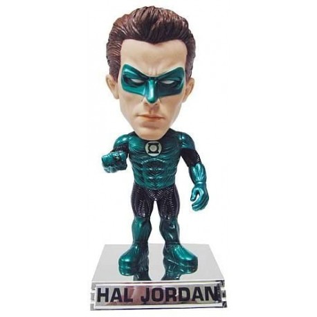 Funko San Diego Comic Con Green Lantern Movie Hal Jordan Metallic Bobble Head